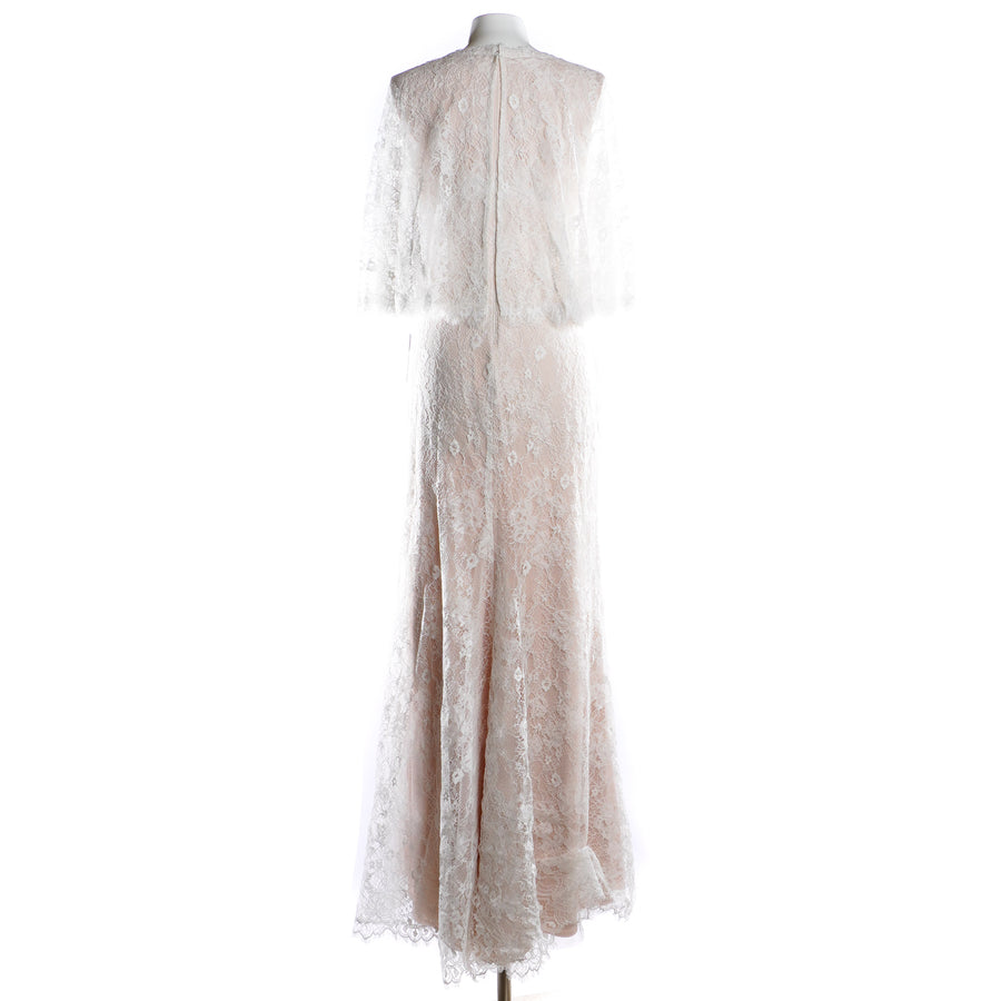 Mina Lace Scallop Gown Size 10