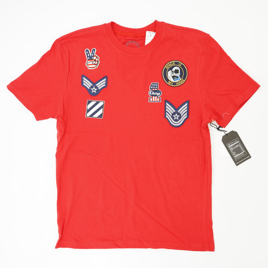 Air Force Space Patch Graphic T-Shirt