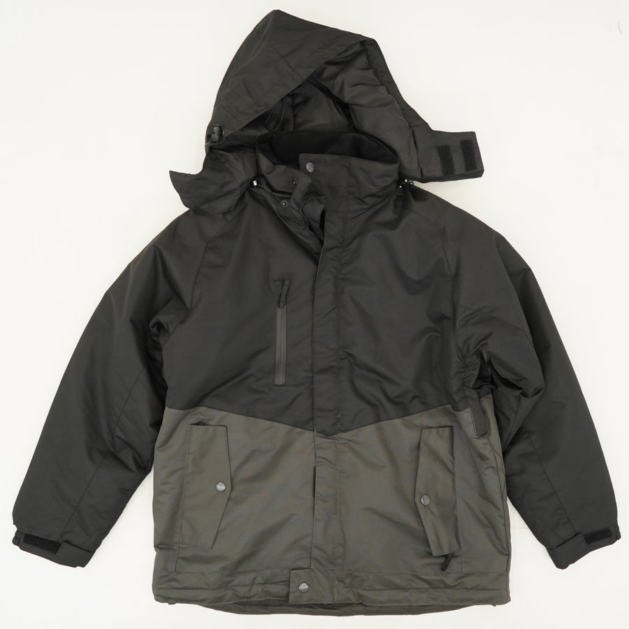 Insulated Hooded Jacket Size L