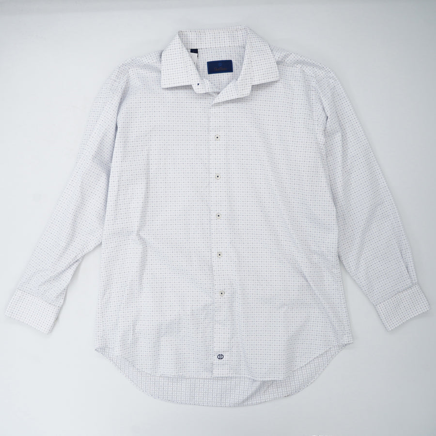 Pinpoints Button Down Shirt Size 17.5/34-35