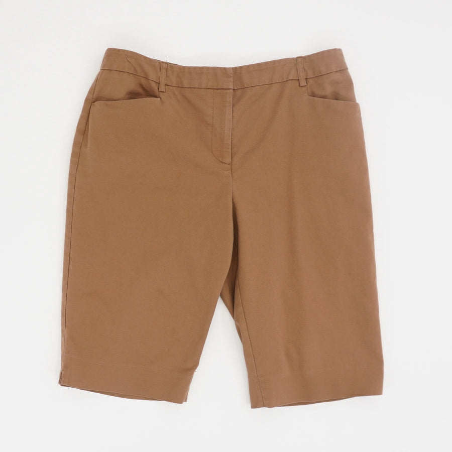 Brown Bermuda Short - Size 12
