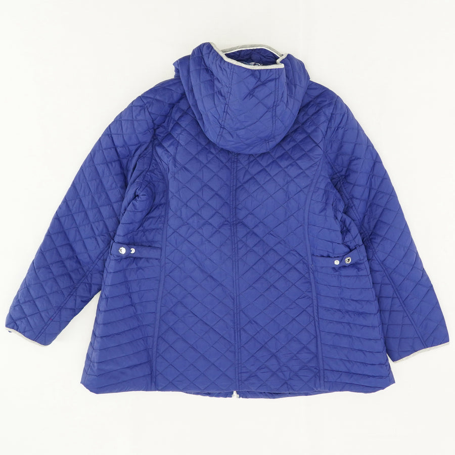 Diamond Quilted Jacket Size 1X