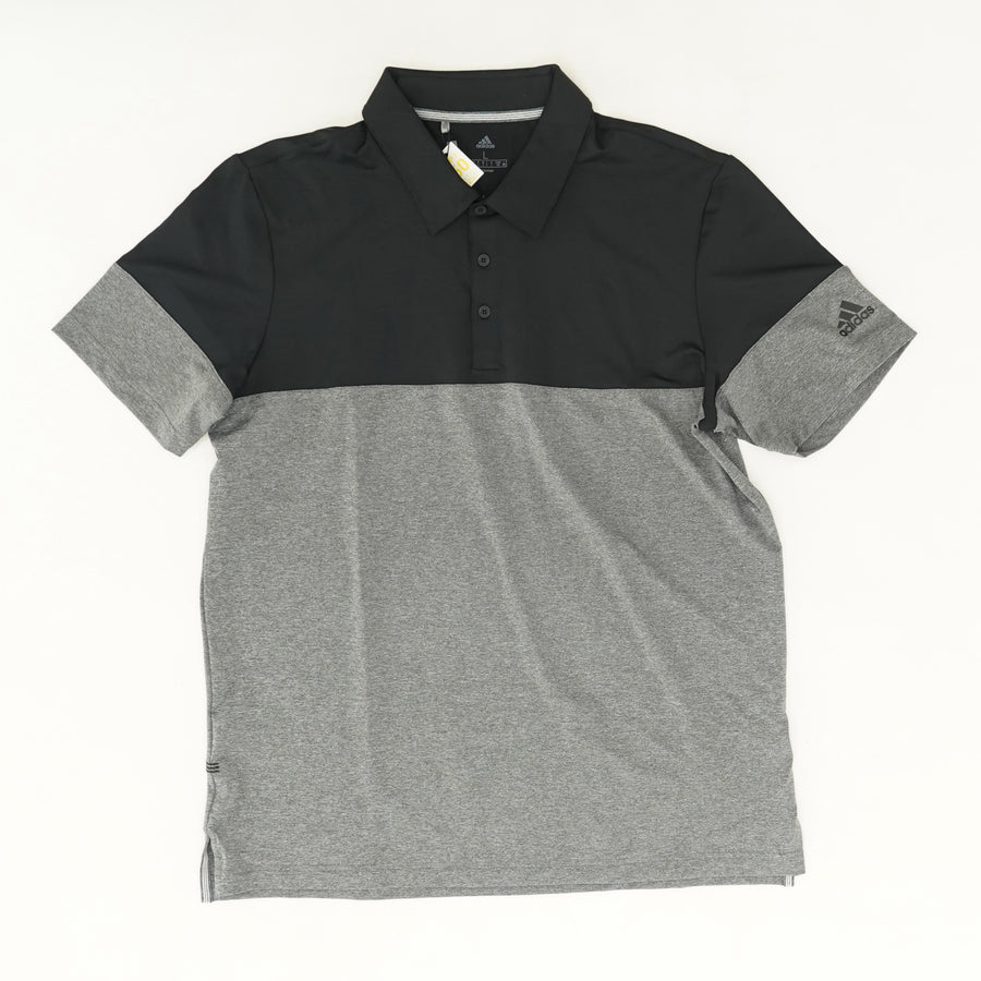 Ultimate365 Heathered Blocked Polo Shirt Size L