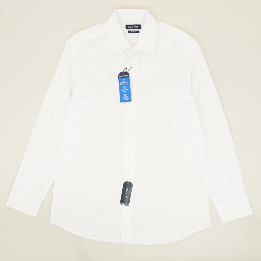 Slim Fit Performance Button Down Size S