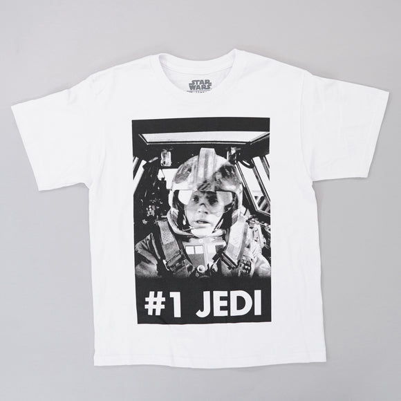 #1 Jedi Luke Skywalker Graphic Tee Size 10/12