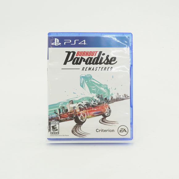 Burnout Paradise Remastered Game for PS4