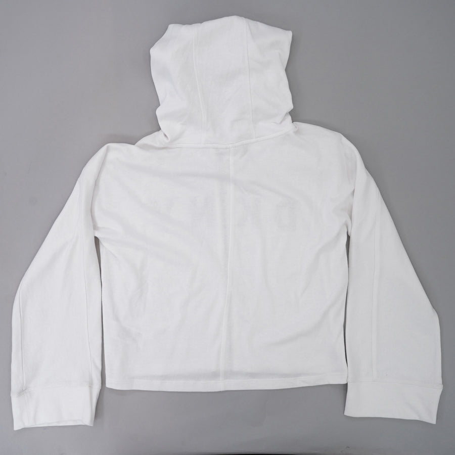 Wide Sleeve Full Zip Hooded Brand Jacket Size S