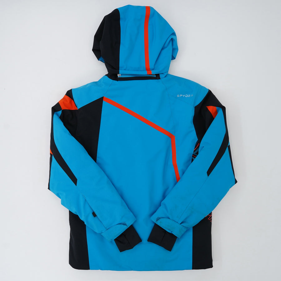 Color Block Full Zip Jacket Size 11
