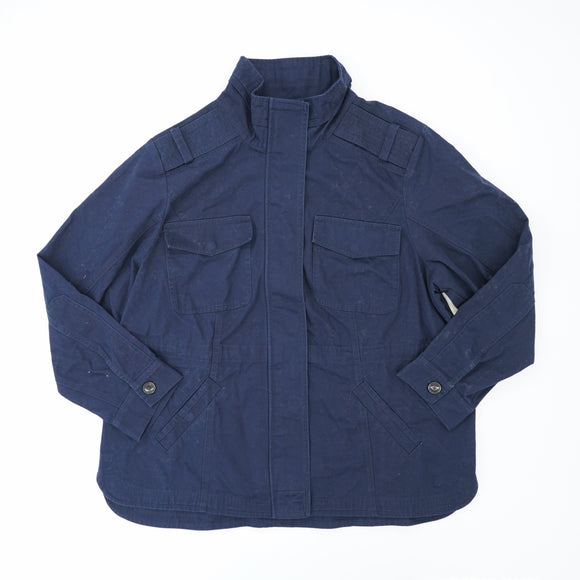 Navy Dia & Co Cargo Jacket Size 1XL