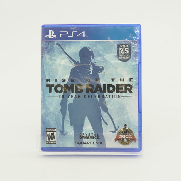Rise of The Tomb Raider Game for PS4