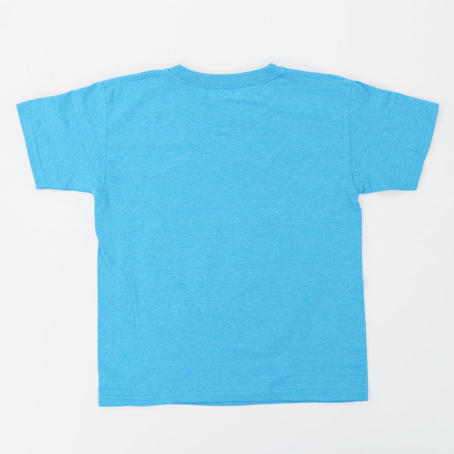 Teal Heather 4 Main Character Graphic Tee