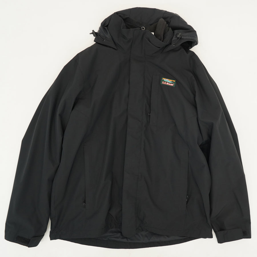 Hooded Insulated Jacket Size L