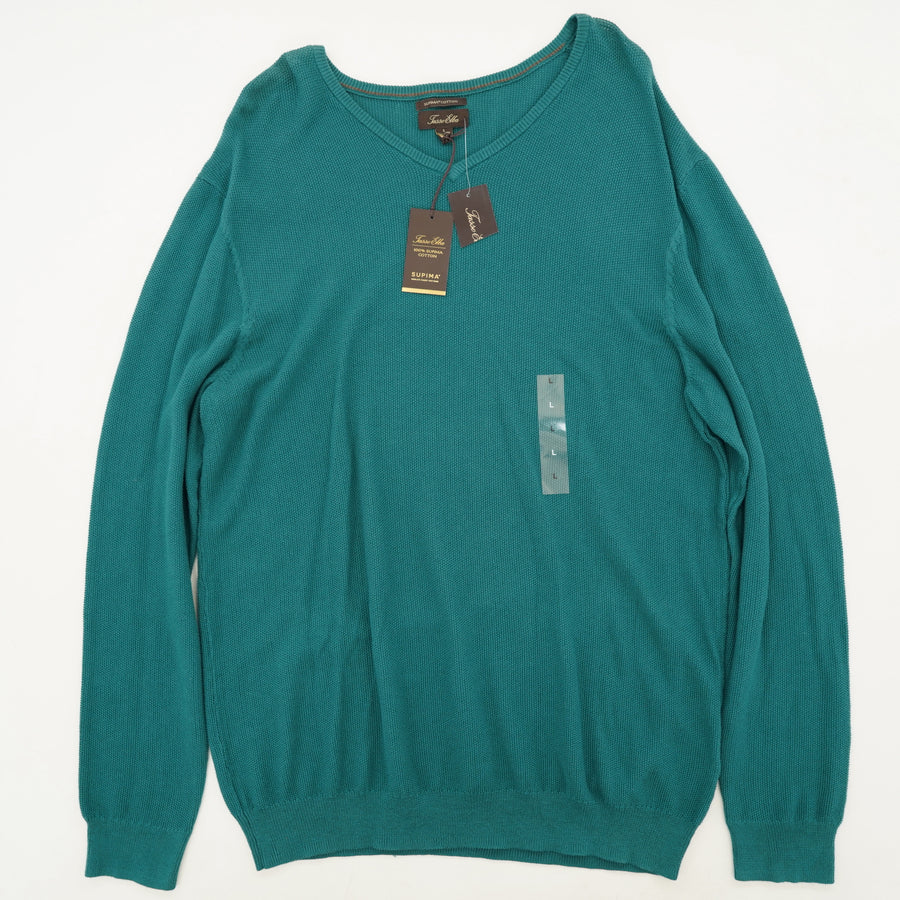 Supima Table Pacific V-Neck Sweater