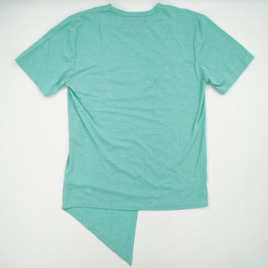 Solid Short Sleeve T-Shirt Size L