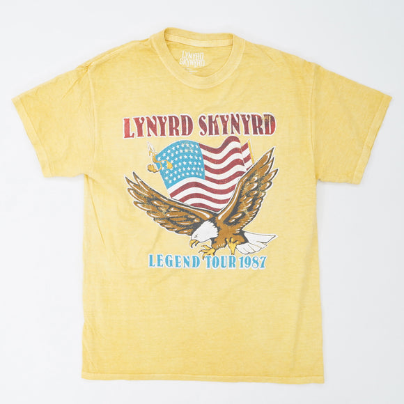 Lynyrd Skynyrd Legend Tour 1987 Band Tee