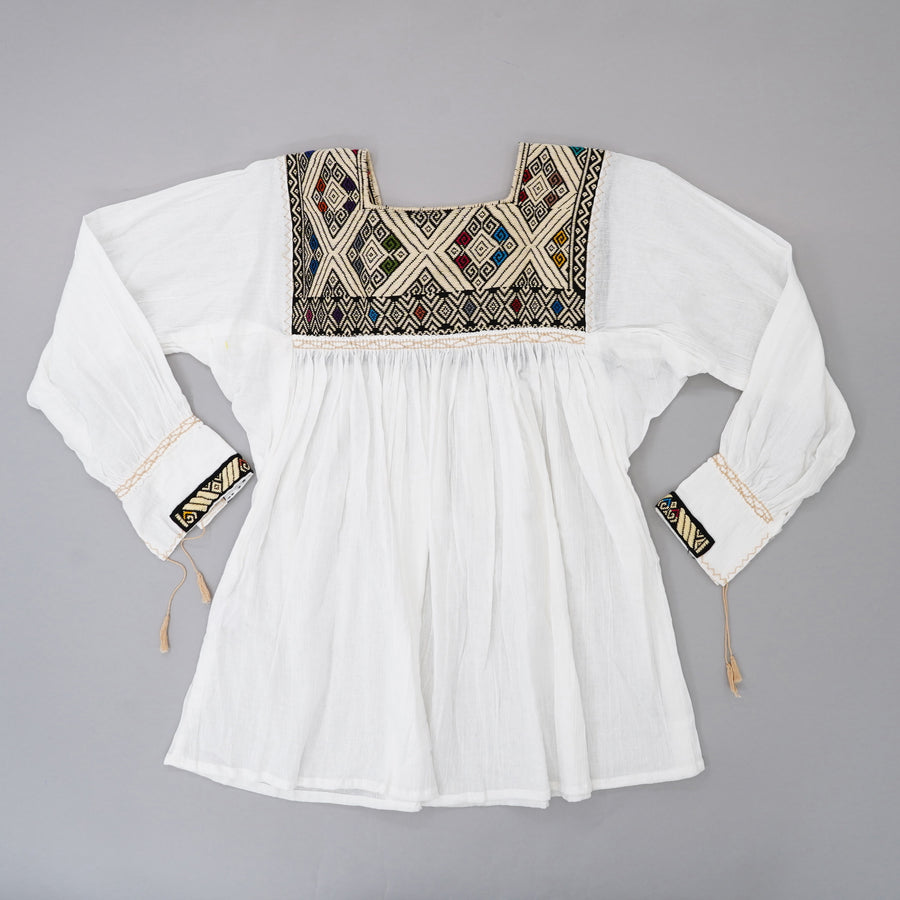 Embroidered Top Size M