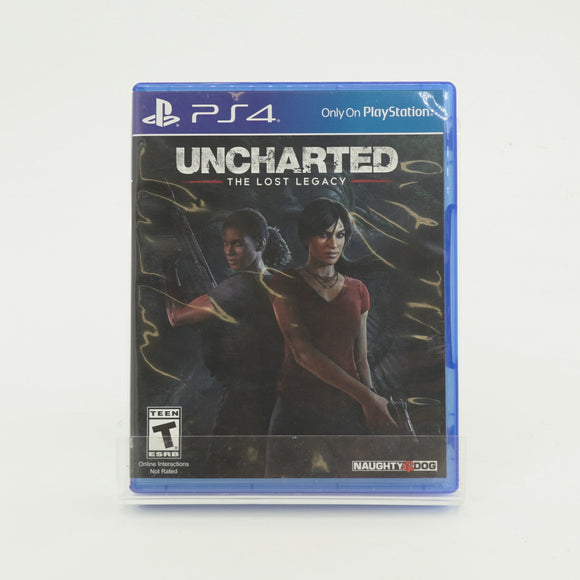 Uncharted The Lost Legacy Game for PS4