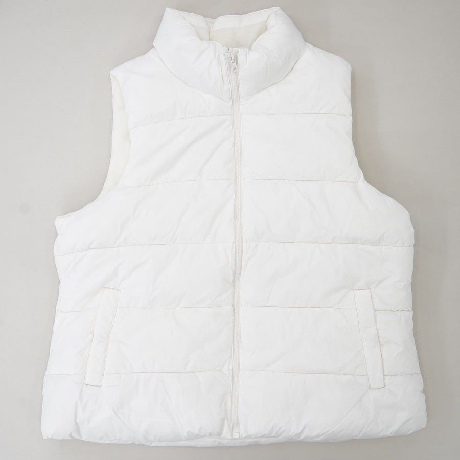Fleece Lined Puffer Vest Size XL