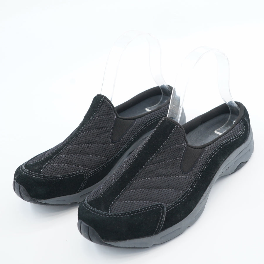 All Black Travel Time Clog