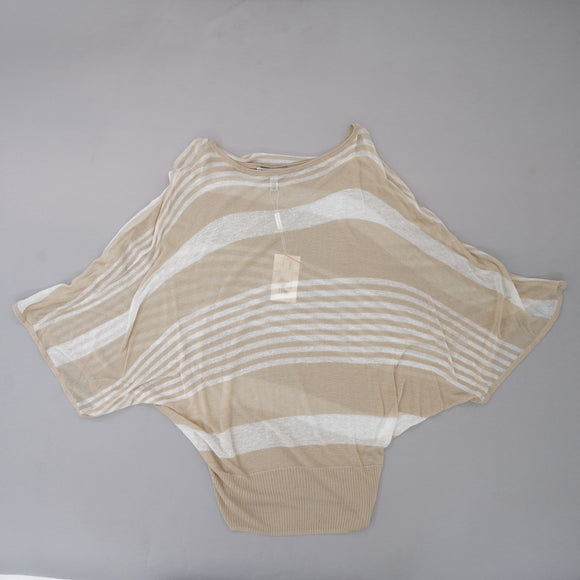 Jutox Engineered Stripe Kimono Sweater Size S