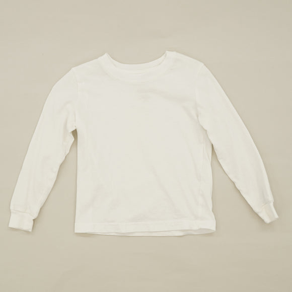 White Long Sleeve Shirt Size 2/3