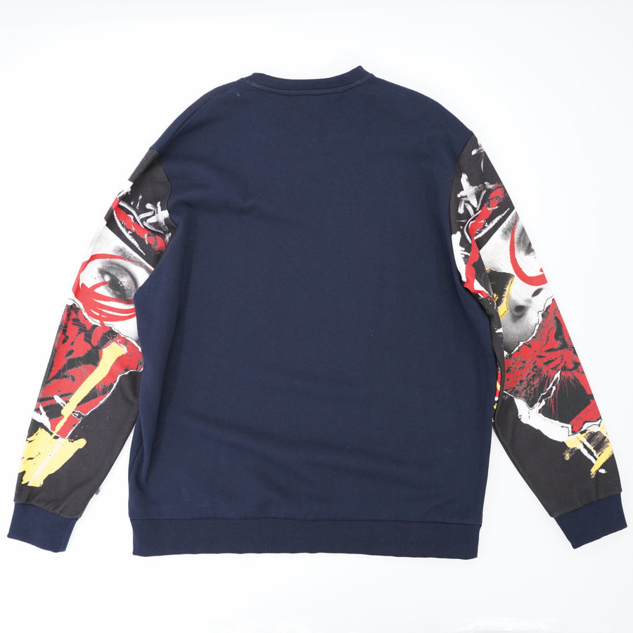 Graphic Sleeved Sweatshirt