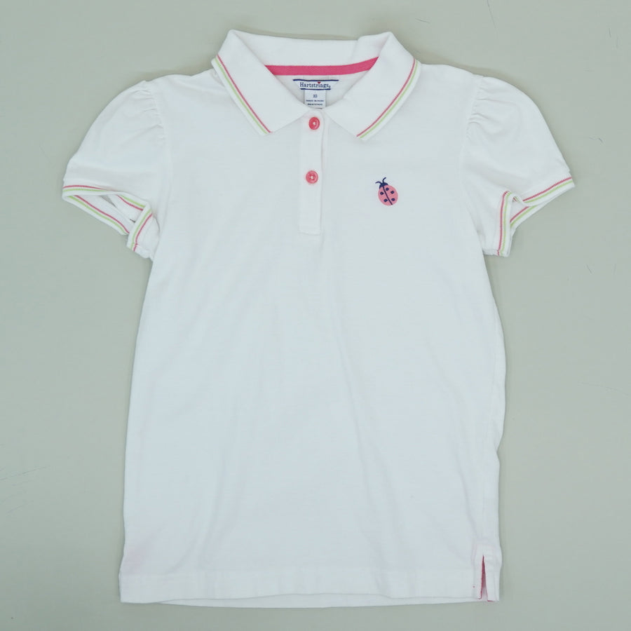 Embroidered Lady Bug Polo - Size 10