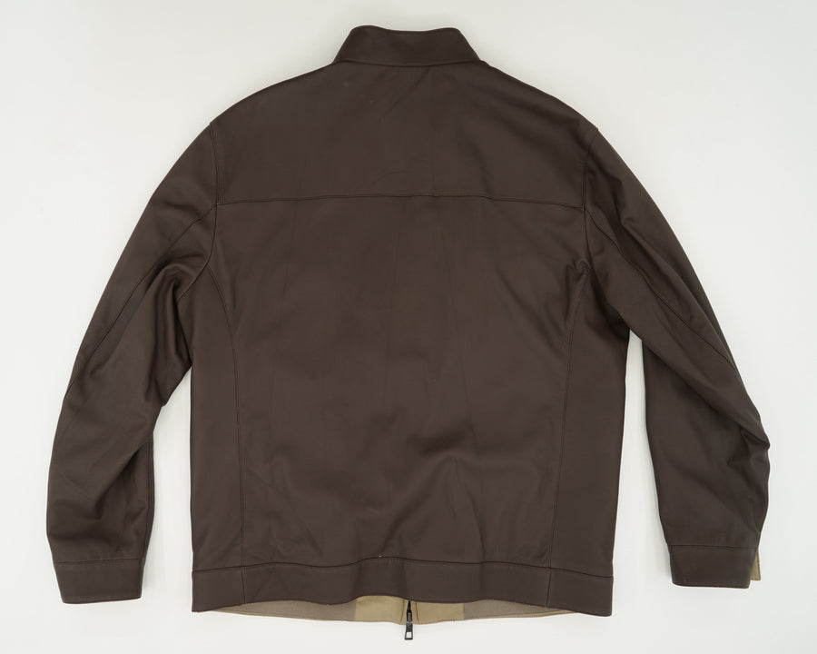 High Neck Reversible Jacket Size L