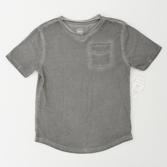 Plain Tee With Pocket Size S