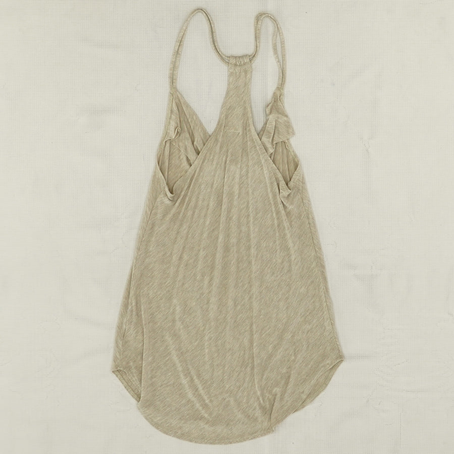 Strappy Drape Front Racer Tank Size S