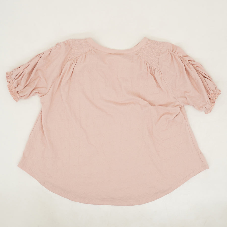 Fever Dream Ruched Sleeve Shirt - Size M
