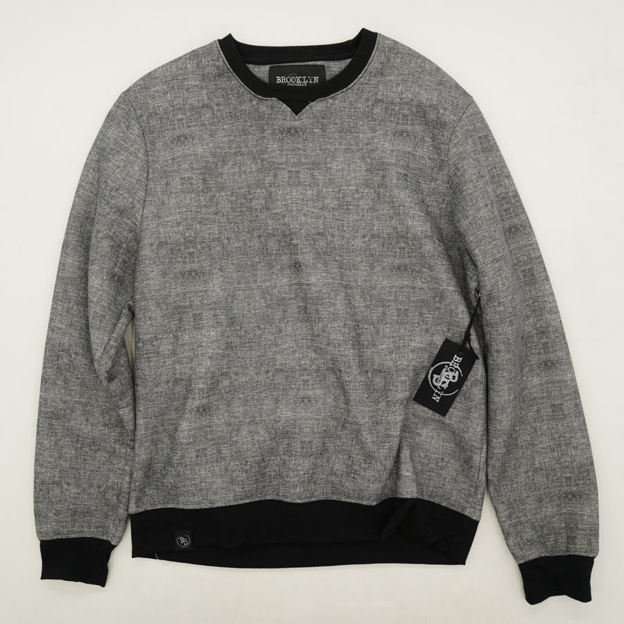 Grey Heather Sweatshirt Size M