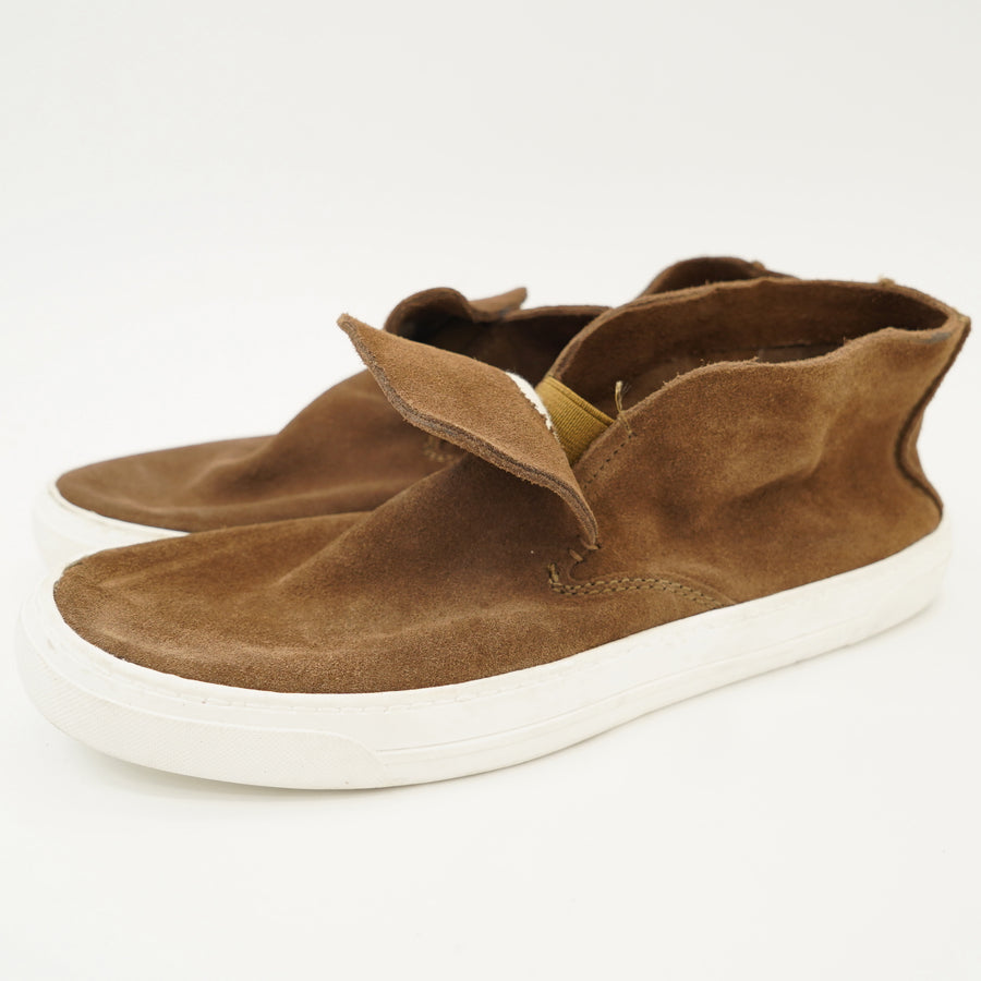 Brown Slip On Sneakers Size 8