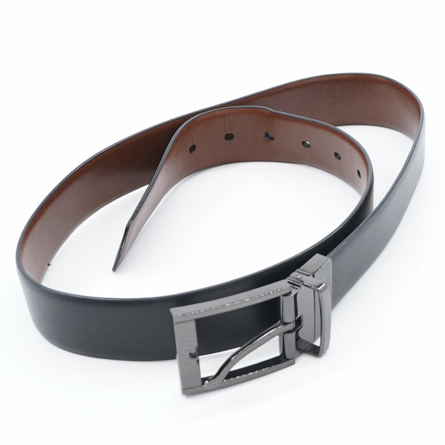 Reversible Leather Belt - Size 32