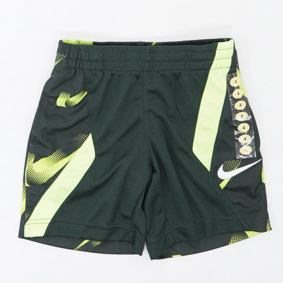 Dri-Fit Drawstring Mesh Pocket Outdoor Green embroidered Volt Shorts Size 4