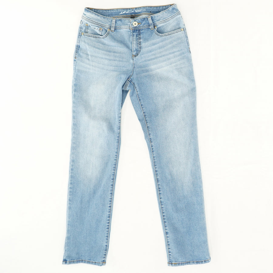 Straight Leg Regular Fit Jeans - Size 10