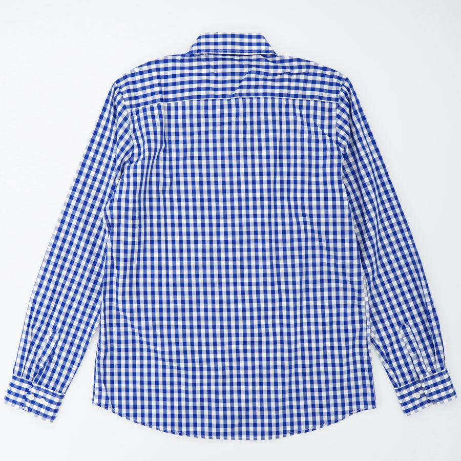 Checked Button Down Shirt Size L