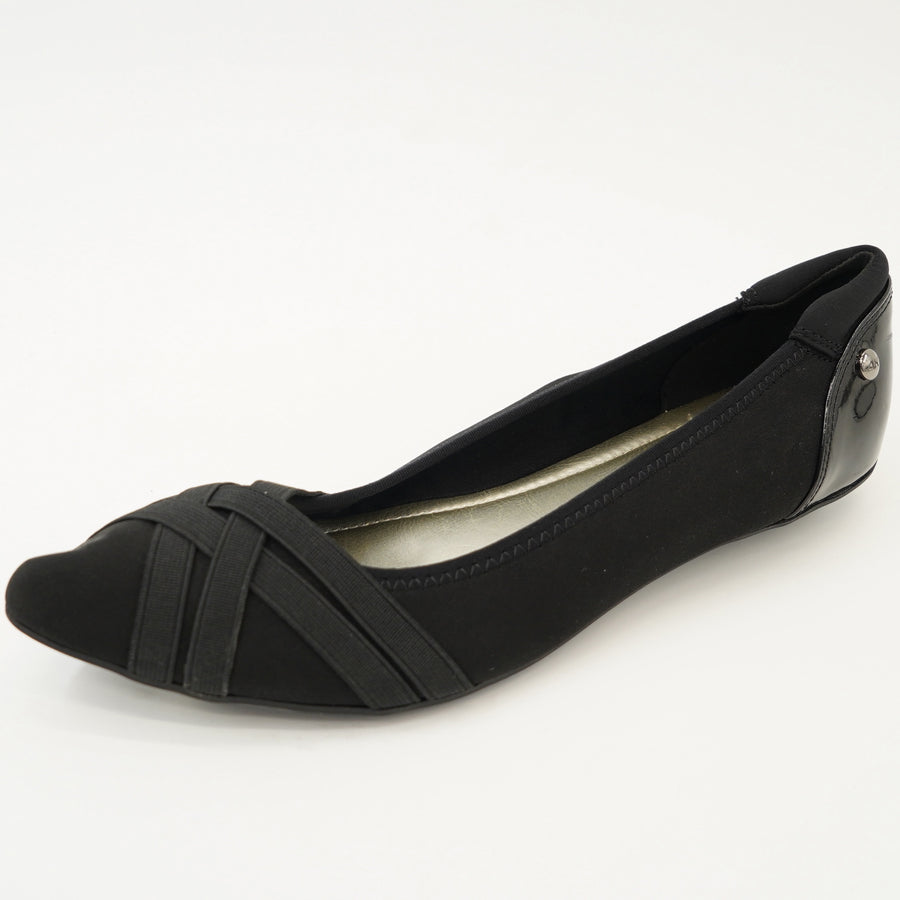 Pointed-Toe Slip On Flats Size 7.5