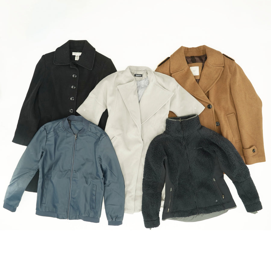 Women's Jackets and Coats Mystery Bag (5 per Bag)