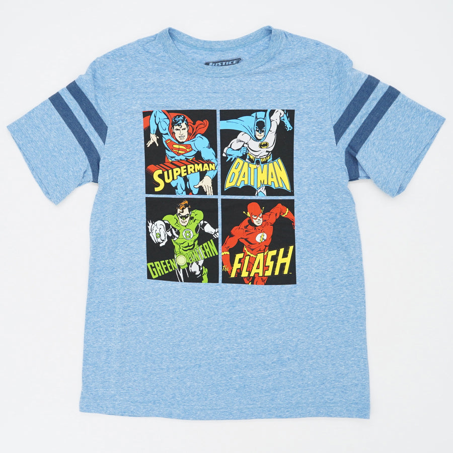 Squared Justice League Crew Tee Size XL