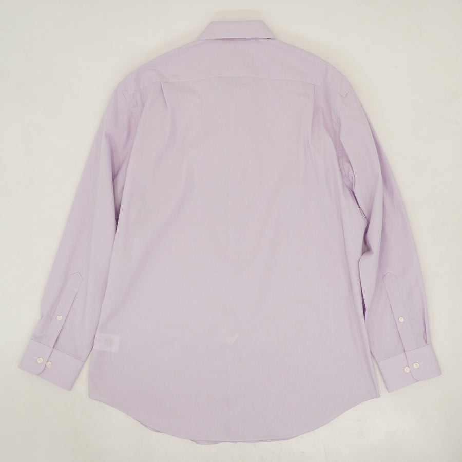 THFlex Athletic Fit Stretch Purple Dress Shirt - Size L