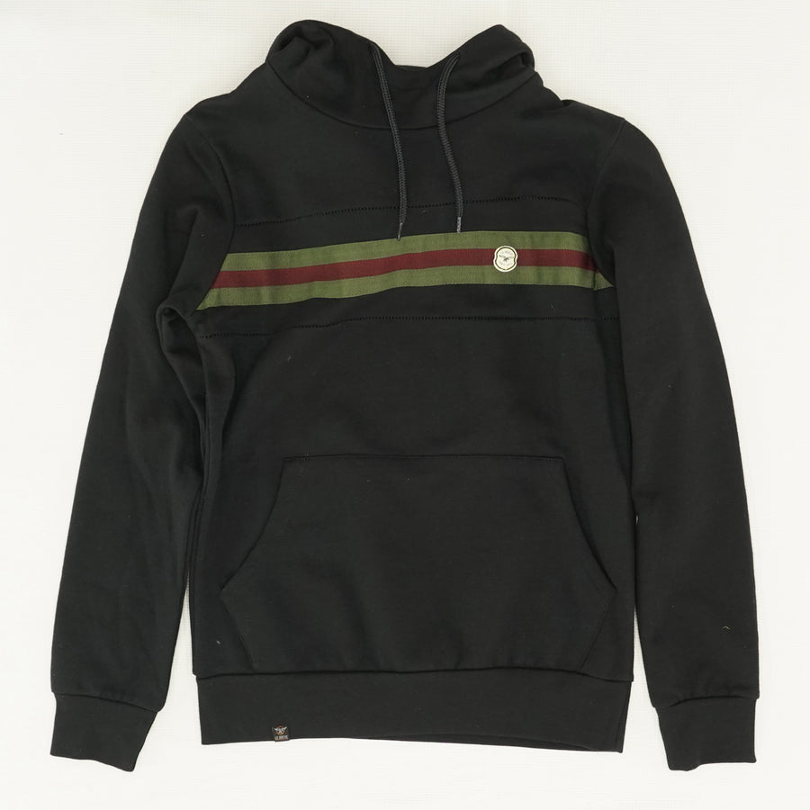 Chest Striped Hoodie - Size S