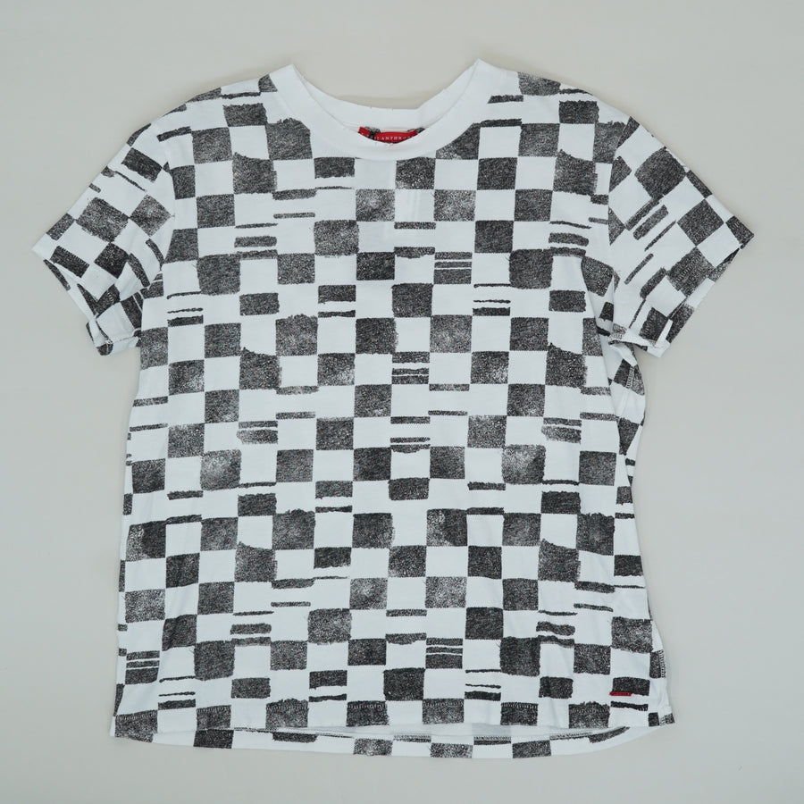 Shanghai Geometric Patterned T-Shirt Size M