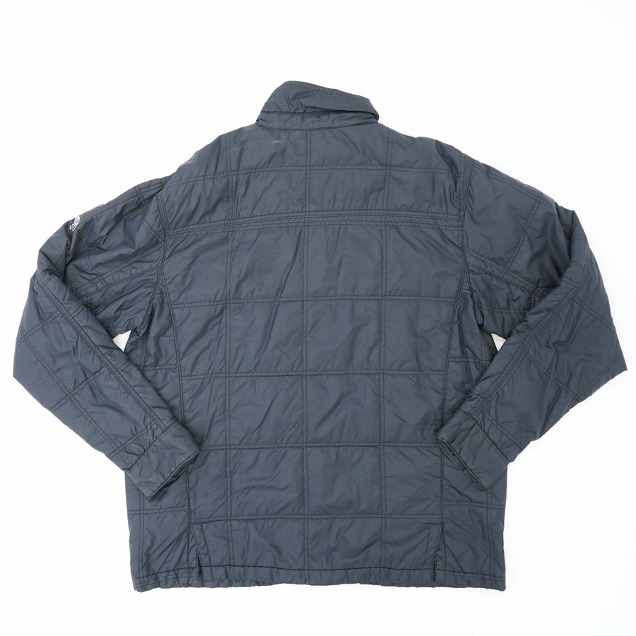 Insulated Button Down Jacket Size L