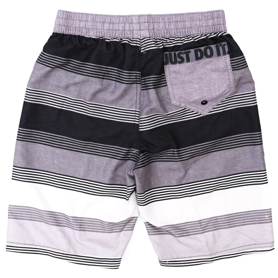 Breaker Just Do It Stripe Back Pocket Swim Shorts