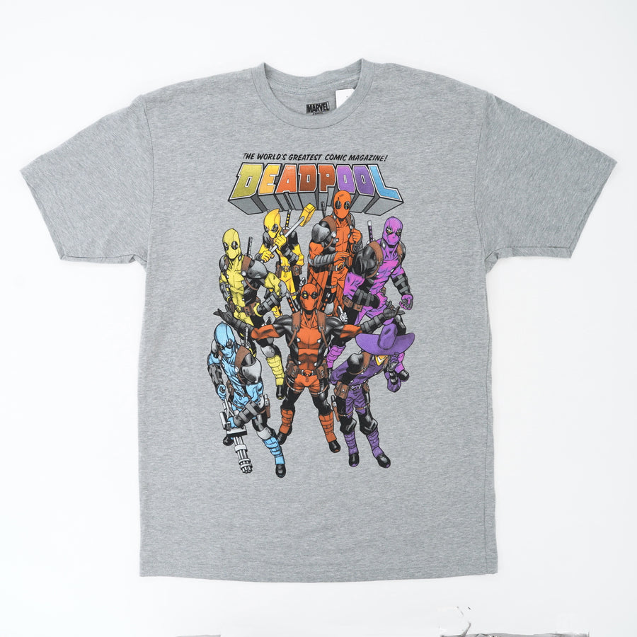 Deadpool Comics Graphic Tee Size M