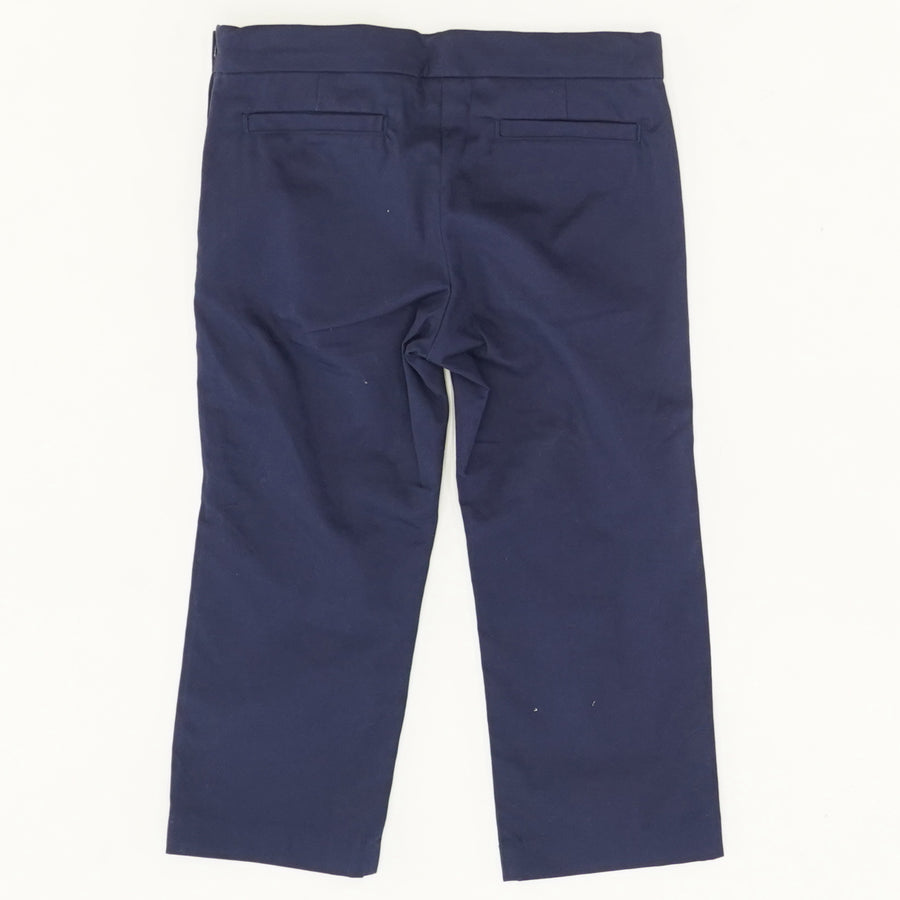 Navy Pants with Bows - Size 6