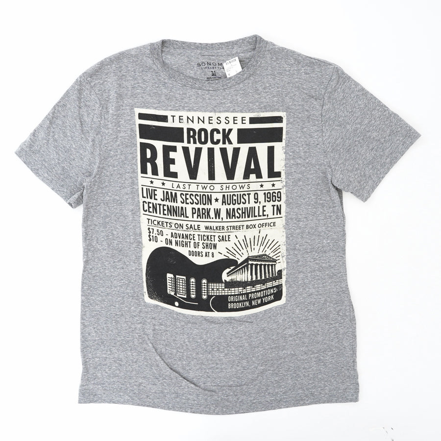 Tennessee Rock Revival Graphic Tee Size M