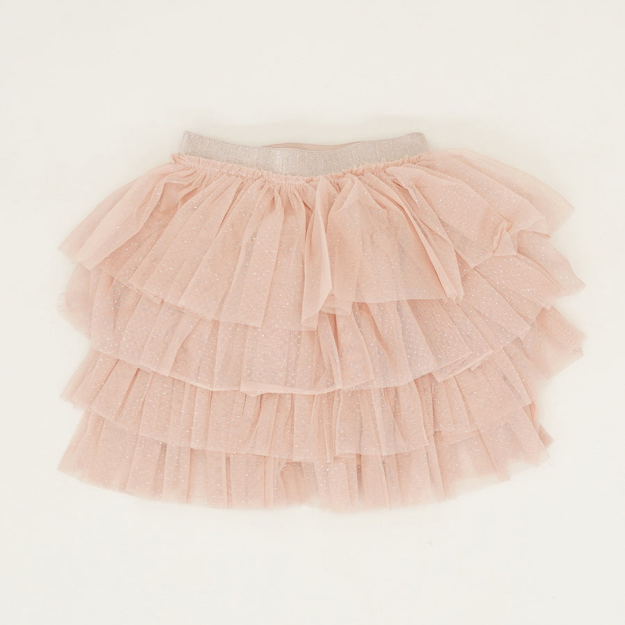 Pink Tulle Skirt - Size 7