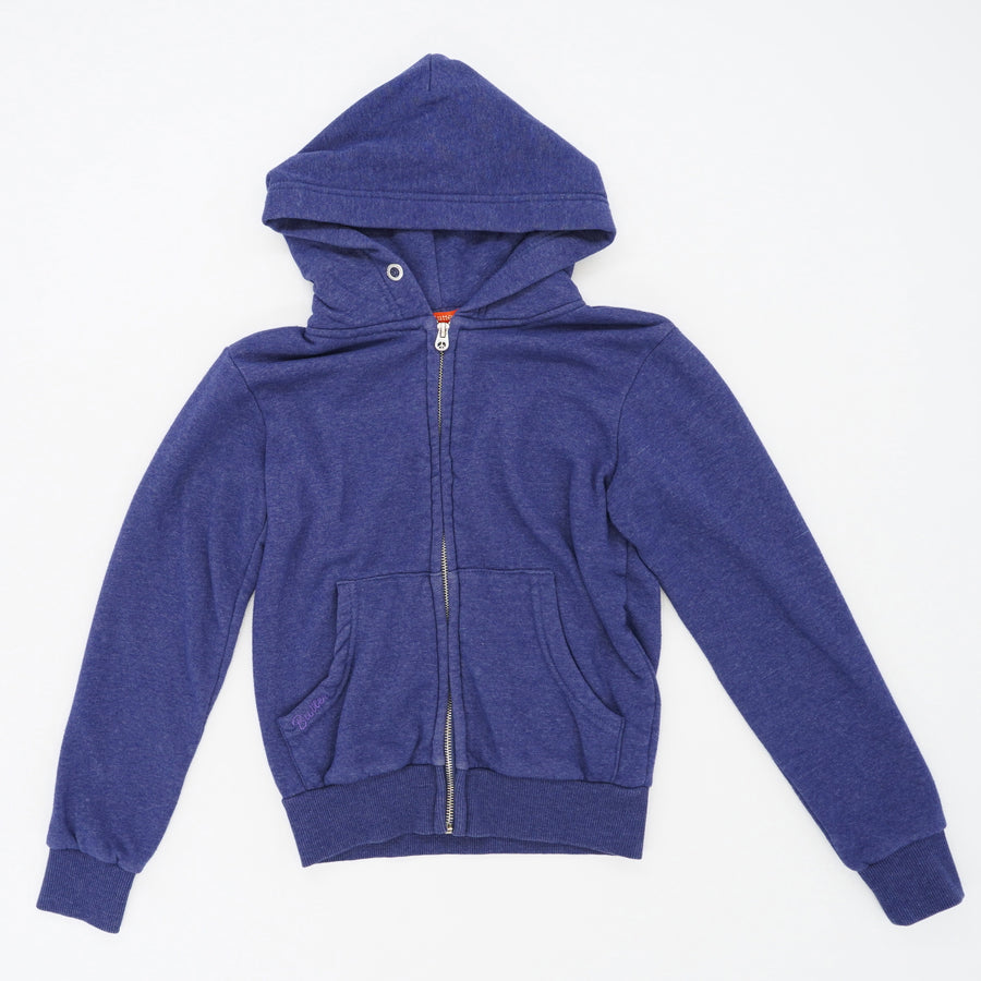 Super Soft Blue Popsicle Zip Up Hoodie Size S